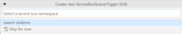 azFn-6-ServiceBusConnection
